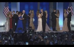 Трамп с женой исполнил первый танец на балу в честь инаугурации