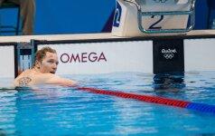 После бронзы в Канаде литовский пловец нацелился еще на один финал