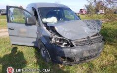 В результате ДТП на Via Baltica пострадали два человека