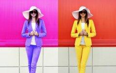 Sužinok, kokios spalvos tau tinka labiausiai