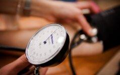Ką pirmiausia reikia daryti, norint sumažinti kraujospūdį