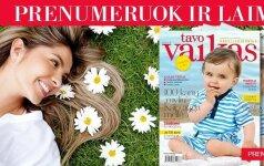 Prenumeruok žurnalą TAVO VAIKAS ir išsaugok plaukų grožį! REZULTATAI