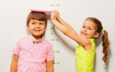 Kaip sužinoti, kokio ūgio užaugęs bus jūsų vaikas