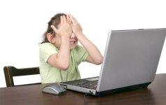 Elektroninės patyčios gąsdina ir vaikus, ir tėvus