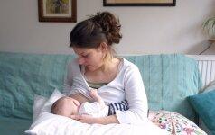 Skausminga liga, kurią patiria ne viena jauna mama