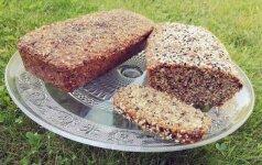 Duona be miltų - lengvas ir išbandytas receptas