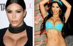 Kim Kardashian nusprendė priminti, kaip anksčiau atrodė jos kūnas