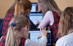 Informatikos mokysis vaikai nuo pirmos klasės