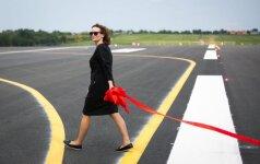 Открывается Вильнюсский аэропорт