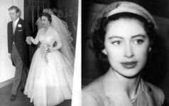 """Gyvenimas sesers šešėlyje: kaip susiklostė """"atsarginės princesės"""" Margaret, jaunesniosios Elizabeth II sesers gyvenimas"""
