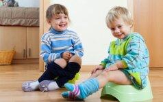 Kaip pripratinti vaiką prie naktipuodžio per 3 dienas?