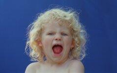 Kai vaikas netinkamai elgiasi, jis tuo nori kai ką pasakyti