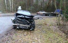 На окраине Вильнюса произошло ДТП