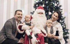 Akimirkos iš Zvonkų dvynukų gimtadienio: Kalėdų senelis ir kitos linksmybės