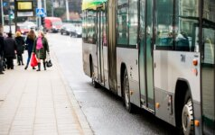 Vaizdelis autobuse šokiravo vilnietį