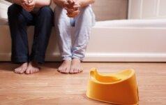 Neįprastas patarimas, kaip atpratinti vaiką nuo sauskelnių