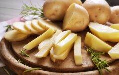 Mitybos specialistė: netiesa, kad bulvės nesveika + PLOKŠTAINIO RECEPTAS