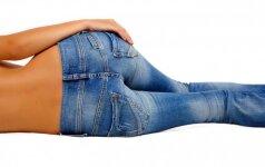Dėl per siaurų kelnių į ligoninę: kokie pavojai tyko už skinny džinsų