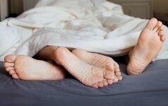Ką miego poza atskleidžia apie tavo antrąją pusę