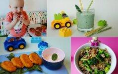 5 sveiki patiekalai vaikams: vienos dienos meniu FOTO