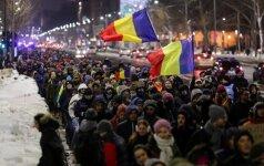 Жители Румынии протестовали против помилования тысяч заключенных
