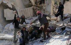 За 26 дней боев в восточном Алеппо погибли более 800 человек
