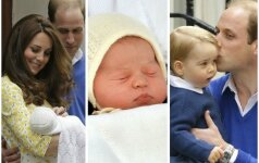 TOP 15 įspūdingiausių nuotraukų iš K.Middleton gimdymo (FOTO)
