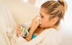 Ką daryti susirgus peršalimo ligomis