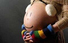 Norite protingo vaiko? Kalbėkite su juo nėštumo metu