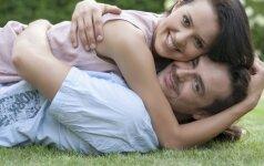 Kaip nesuklysti, ar vyras bus geras tėtis