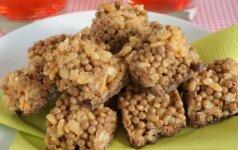 GENIALIAI PAPRASTA: pasakiškai skanus ryžių dribsnių TINGINYS