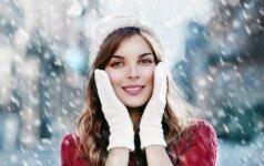 Ką būtina žinoti apie odos priežiūrą žiemą