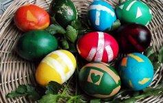 Dar vienas įdomus būdas marginti kiaušinius (FOTO)