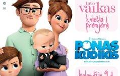 TAVO VAIKAS kviečia pamatyti lietuviškai dubliuotą animacinę komediją PONAS KŪDIKIS