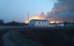 Пожар и взрывы на складе боеприпасов под Харьковом: власти говорят о диверсии