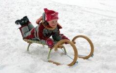 5 žiemos pramogos, kurias šiuolaikiniai vaikai baigia pamiršti FOTO
