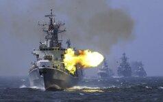 Литва пристально следит за совместными учениями России и Китая на Балтике