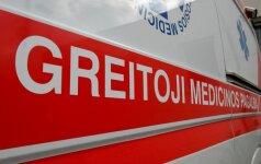 В Клайпеде из окна 4 этажа выпал 1,5-годовалый ребенок