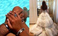 Šios gražuolės vestuvės - kiekvienos svajonė