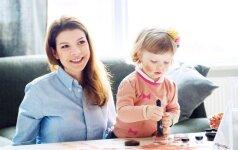 Karolina Liukaitytė: nereikia klausyti, ką sako močiutės