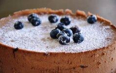 Nekeptas šokoladinis tortas: tobulas skonis ir mažai darbo