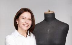 Drabužių konstruktorė: tą pačią suknelę gali pasiūti ir per dieną, ir per penkias