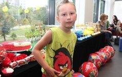 Triukšmingas Ingos Budrienės sūnaus Kerniaus aštuntasis gimtadienis su Angry Birds FOTO
