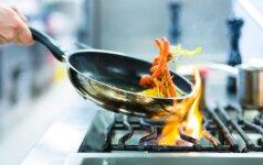 Kaip gaminti, kad nesugadintume sveikų maisto produktų?