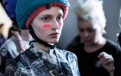 2014 m. užkulisiai, Kristinos Vikøren modelis. Fotografas – Gedmantas Kropis