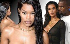 Nauja Kanye Westo mūza karštesnė, nei pati Kim Kardashian