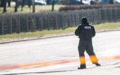 В Неменчине бойцы Арас задержали 12 вооруженных мужчин в камуфляжных комбинезонах