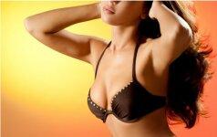 Ką vyrai mano apie mažą krūtinę ir ją pakeliančias liemenėles?