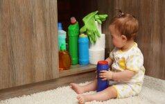 Buitiniai valikliai: kaip dėl švaros neprarasti sveikatos?