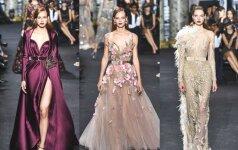 Apie jas svajoja ir žvaigždės: gražiausios Elie Saabo suknelės